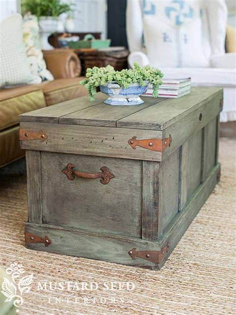 Diy Chest Coffee Table