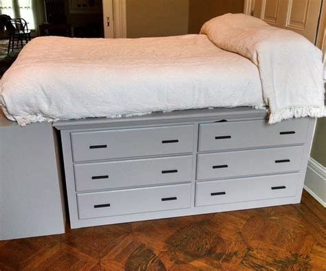 Diy Dresser Bed Frame