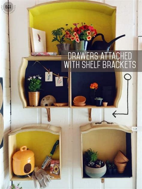 Diy Dresser Drawer Shelf