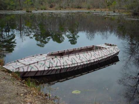 Diy Duck Boat Plans