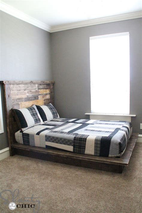 Diy Easy Platform Bed