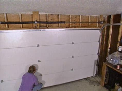 Diy Garage Door Installation