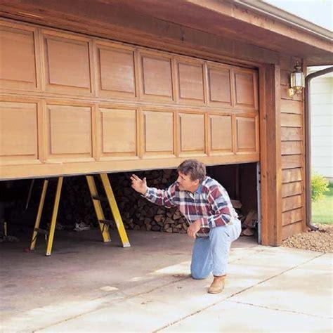 Diy Garage Door Tune Up