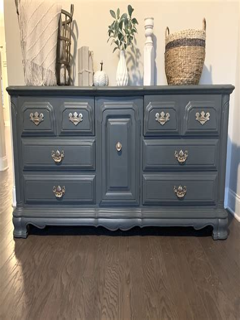 Diy Gray Dresser