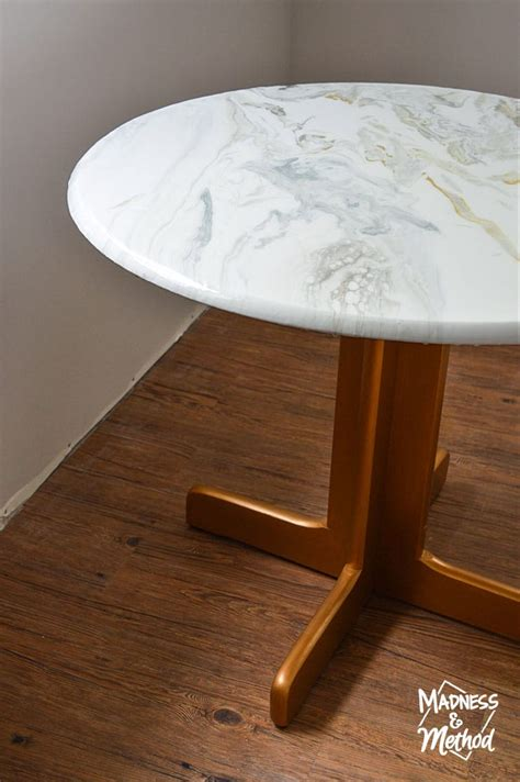 Diy Marble Dining Table