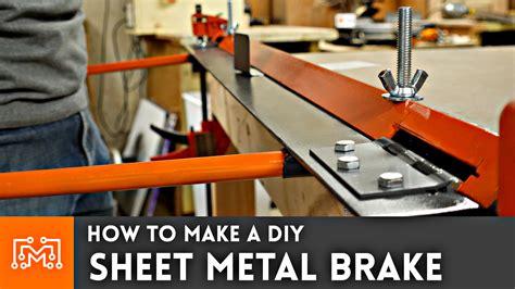 Diy Metal Brake Plans