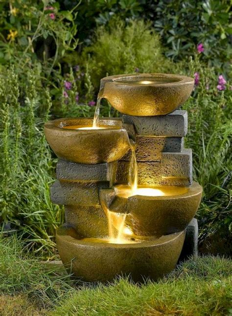 Diy Outdoor Water Features