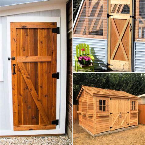 Diy Shed Door Design