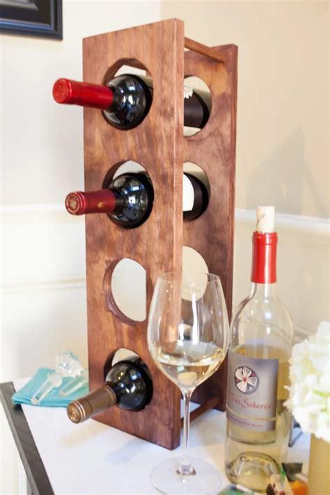 Diy Small Wine Rack