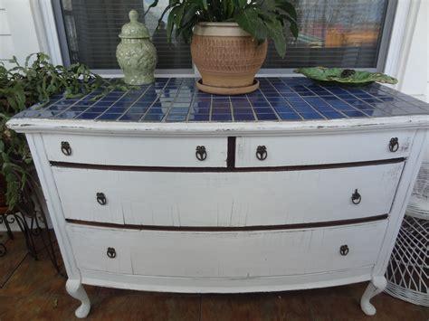 Diy Tile Top Dresser