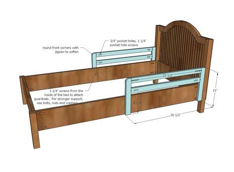 Diy Toddler Bed Plans