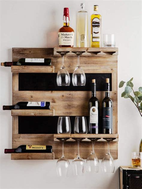 Diy Wine Wall Rack