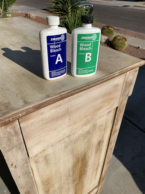 Diy Wood Bleach