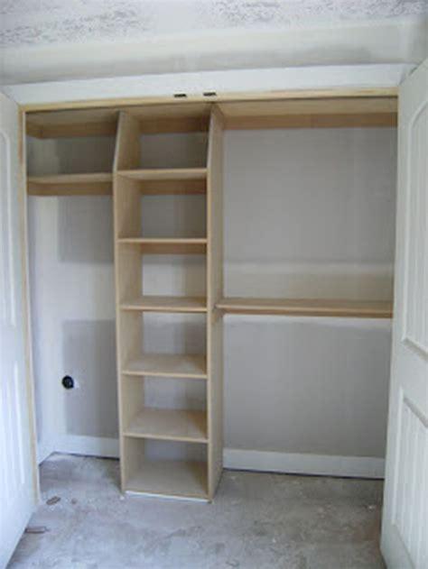 Diy Wood Closet