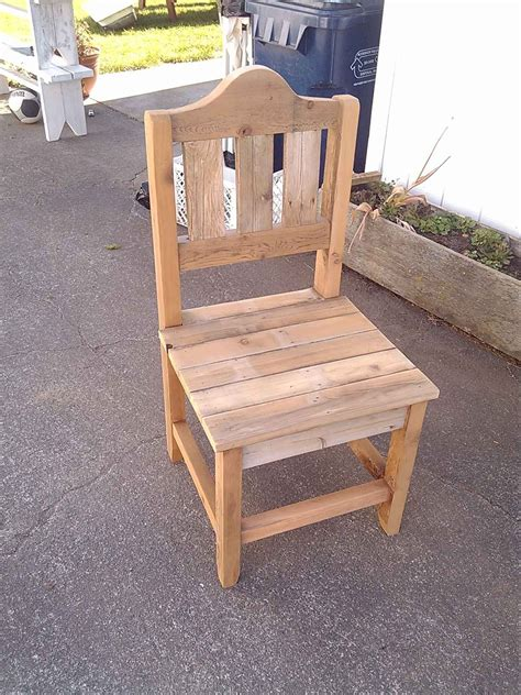 Diy Wood Dining Chair Plans