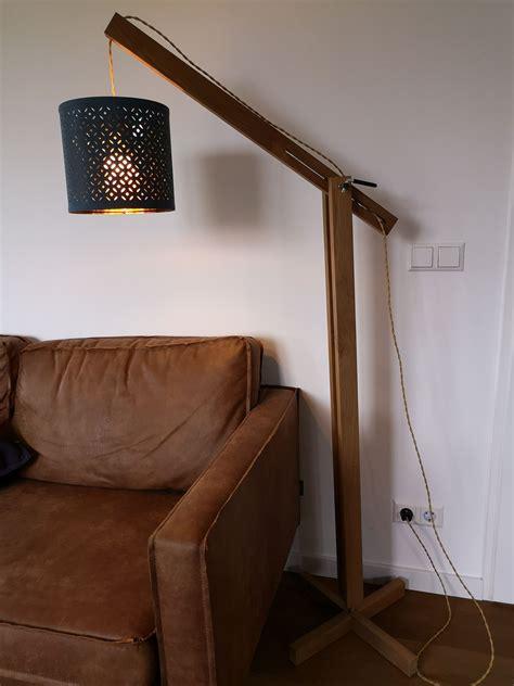 Diy Wood Floor Lamp