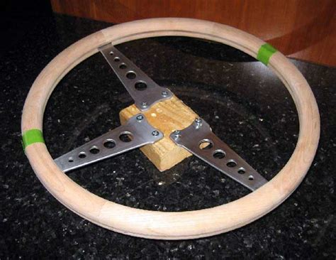 Diy Wood Steering Wheel