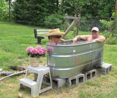 Diy Wooden Hot Tub