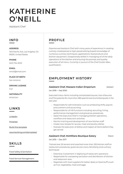 do resume format resume formats with examples and formatting tips - Resume Formatting Tips
