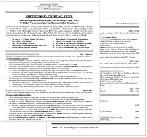 do resumes need to be one page private equity resumes mergers inquisitions  - How To Condense