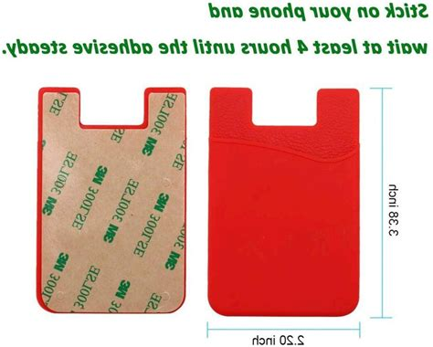 Do You Need Credit Card Details For Apple Id Huo Zao Cc009 Cell Phone Wallet Silicone Credit Card Id