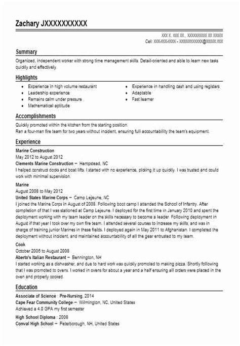 dock worker resume cover letter curriculum vitae sample academic