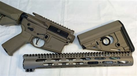 Magpul-Question Does Midwest Industries Fde Match Magpul.