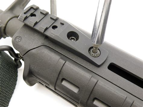 Magpul-Question Does Mlok Work To Magpul Guars.