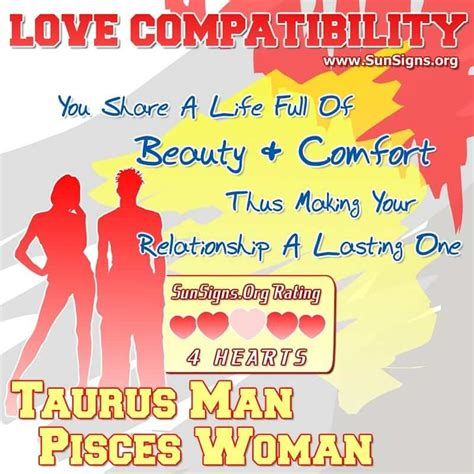 Taurus-Question Does Taurus Man Love Pisces Woman.