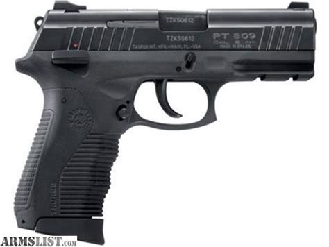 Taurus-Question Does The Taurus Pt809 Have A Polymer Trigger.