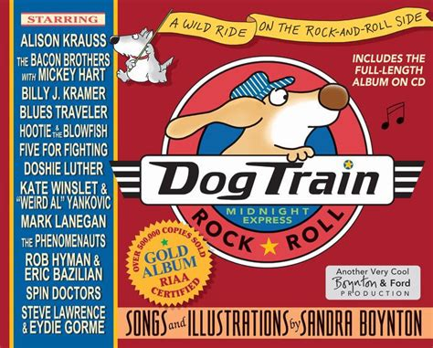 dog train a wild ride on the rock-and-roll side