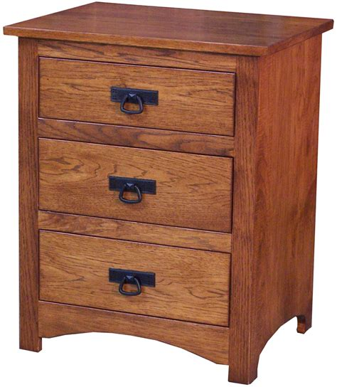 Dollard 3 Drawer Nightstand