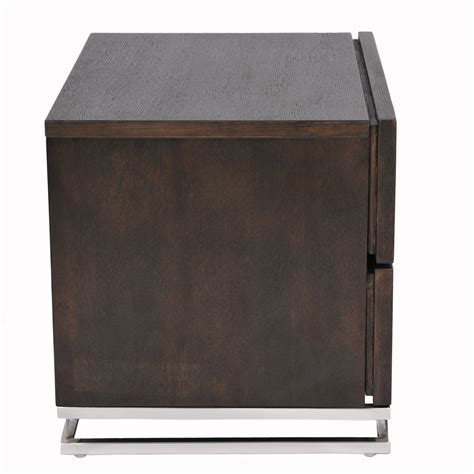 Domingo 2 Drawer Nightstand