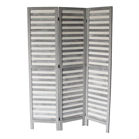 Dominique 70 x 50 3 Panel Room Divider
