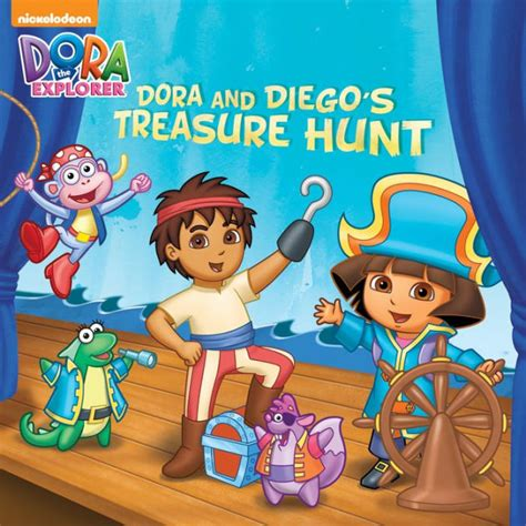 Read Books Dora and Diego's Treasure Hunt Online