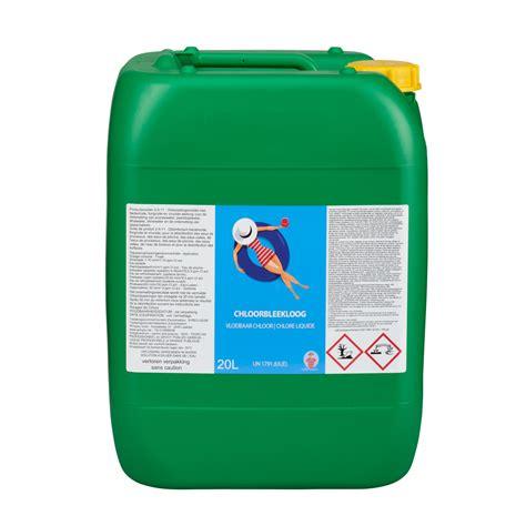 Dosering Chloorbleekloog Zwembad