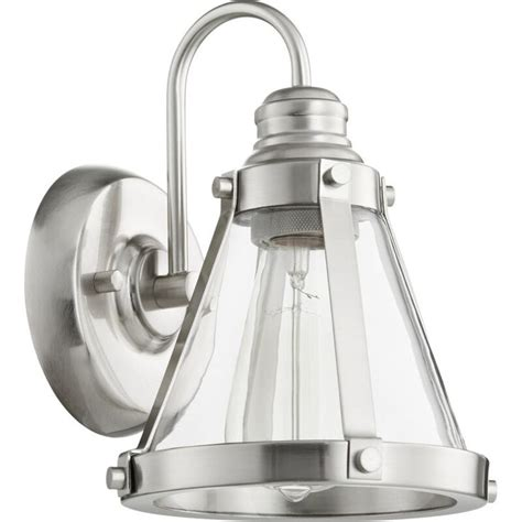 Douglass Circle Banded Cone 1-Light Armed Sconce