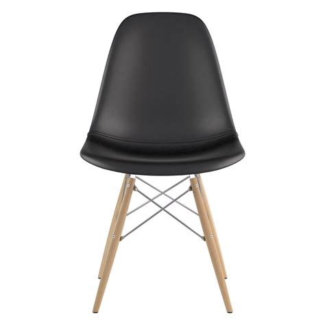 Dowel Genuine Leather Upholstered Dining Chair