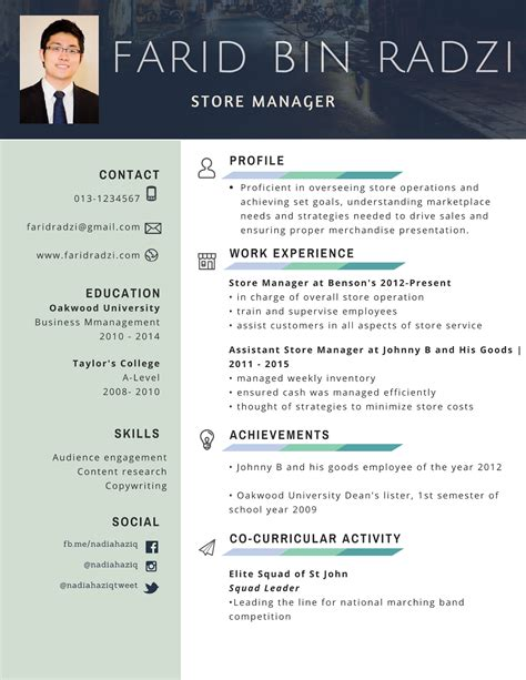 Download Contoh Resume In English Examples Of A Resume Pdf