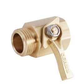 Brass Dramm Heavy Duty Brass Shot Off Valve W300.