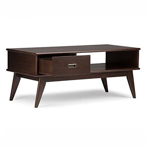 Draper End Table with Storage