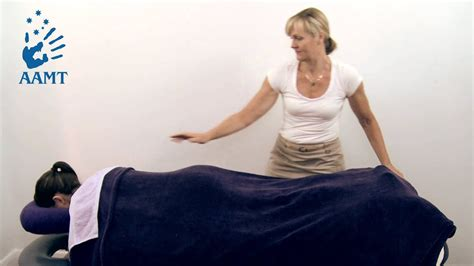 draping of the low back massage therapy