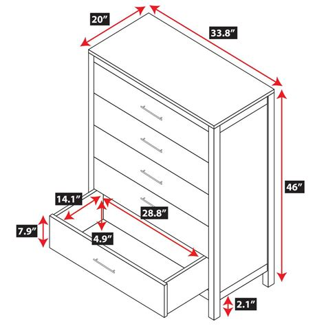 Dresser Dimensions