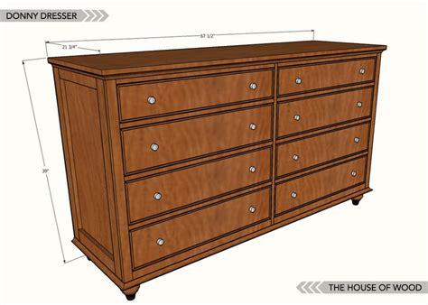 Dresser Dimensions Plans