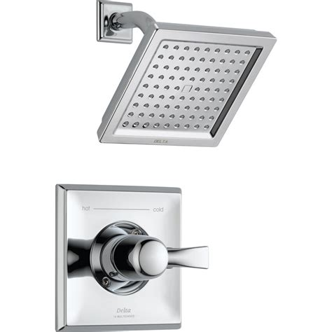 Dryden Diverter Shower Faucet with Monitor