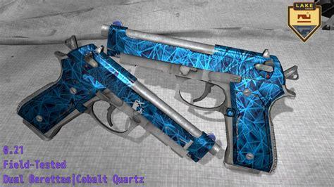 Beretta Dual Berettas Cobalt Quartz.