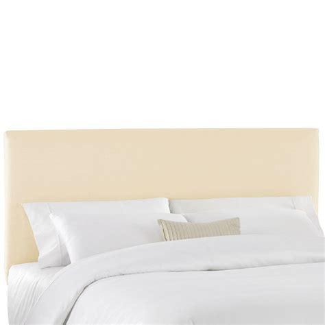 Duck Slipcover Upholstered Panel Headboard