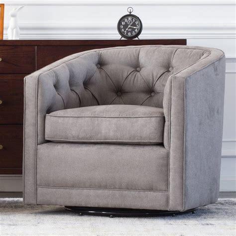 Duclos Swivel Barrel Chair