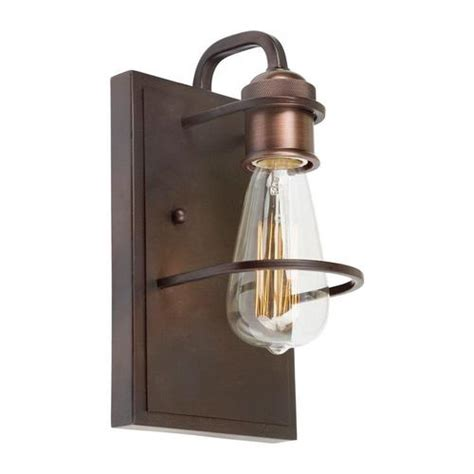 Duffield 1-Light Energy Star Wall Sconce in Old Bronze