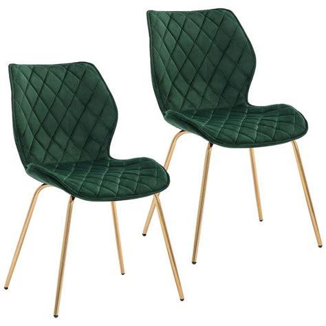 Duhome 2er Set Esszimmerstuhl In Weiß Stuhl Vintage Design Retro